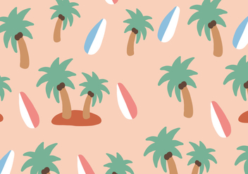 Hawaii Elements Pattern - бесплатный vector #372651