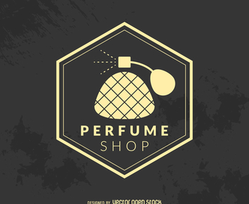 Hipsterperfume shop logo - Free vector #372791