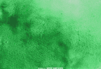 Abstract green watercolor texture - vector gratuit #373081