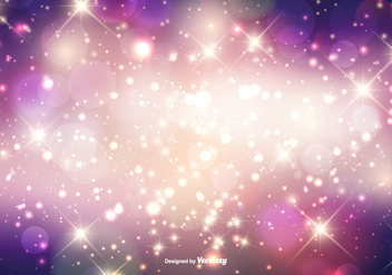 Beautiful Sparkles Background - бесплатный vector #373291