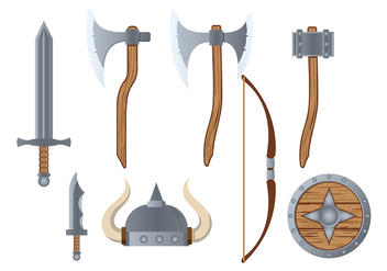 Barbarian Icon Vector - Free vector #373411