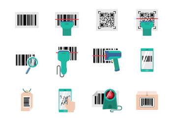 Free Barcode Scanner Vector - Free vector #373491
