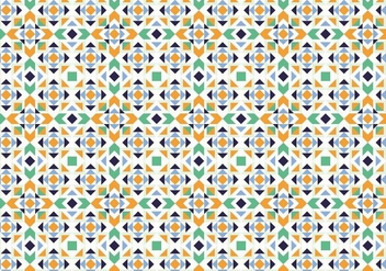 Abstract Mosaic Pattern - vector gratuit #373581