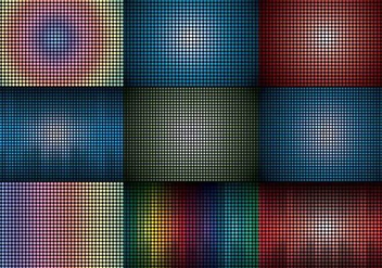 LED Screen Background - Free vector #373721