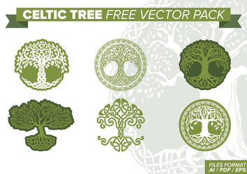 Celtic Tree Free Vector Pack - vector #373751 gratis
