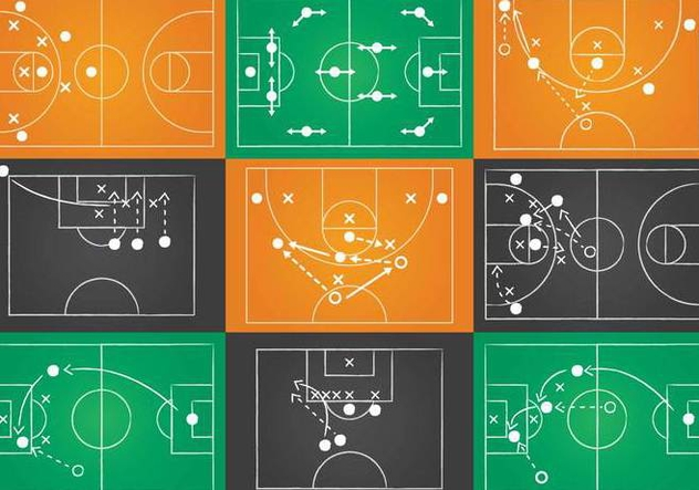 Sport Playbook Vector Set - vector gratuit #374091