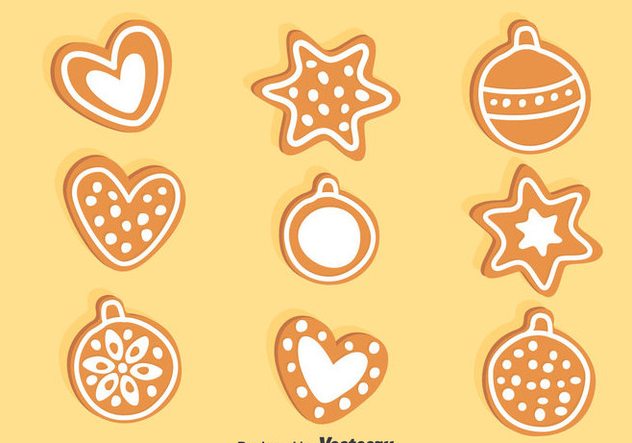 Ginger Bread Vector - Free vector #374441