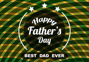Free Vector Modern Colorful Father's Day Background - Free vector #374511