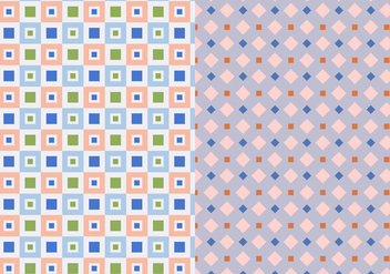 Two Set Geometric Pattern - vector gratuit #374561