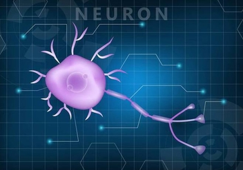 Neuron Wallpaper Vector - vector #374611 gratis