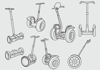 Free Segway Icon Design - vector gratuit #375061