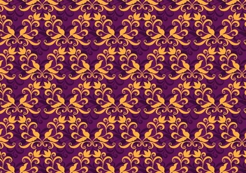 Free Vector Purple Western Flourish Pattern - Free vector #375091
