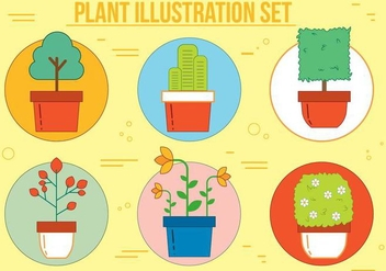 Free Plant Vector Illustration - vector gratuit #375151
