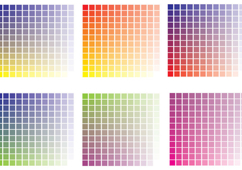 Colour Swatches Vector - бесплатный vector #375221