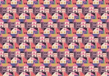 City Abstract Pattern - vector gratuit #375261