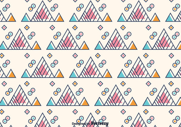 Free Triangle Geometric Background - бесплатный vector #375451