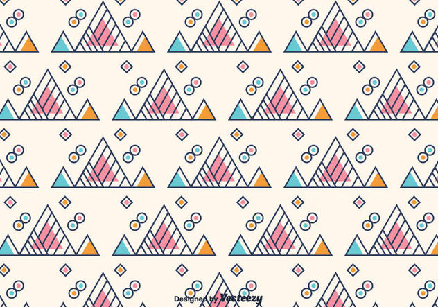 Free Triangle Geometric Background - vector gratuit #375451