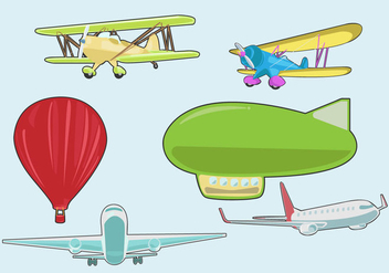 Various Avion Vector - бесплатный vector #375461