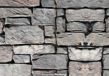 Vector Texture Of Stone Wall - vector gratuit #375541