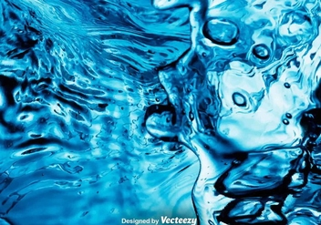Vector Realistic Water Background - Free vector #375591
