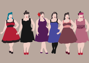 Plus Size Vector - Free vector #375801
