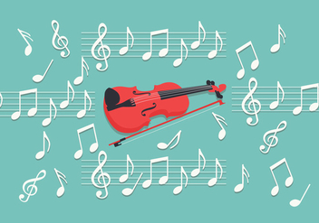 Violin Key Vector - Free vector #376241