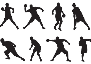 Free Dodgeball Player Vectors - бесплатный vector #376501