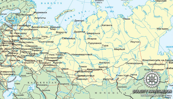 Free vector map of Russia in Corel Draw - бесплатный vector #376671