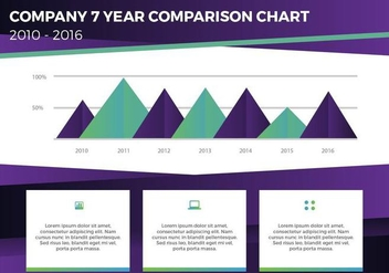 Free Annual Report Vector Presentation 15 - бесплатный vector #376841