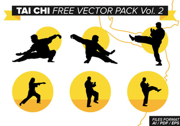 Tai Chi Free Vector Pack Vol. 2 - Kostenloses vector #377161