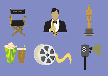 Cinema & Actor Vector - vector #377451 gratis