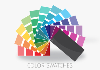 Color Chart - vector gratuit #377561
