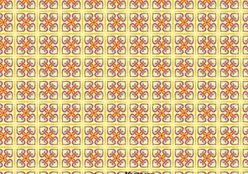 Traditional Portuguese Tiles Seamless Pattern - vector gratuit #377571