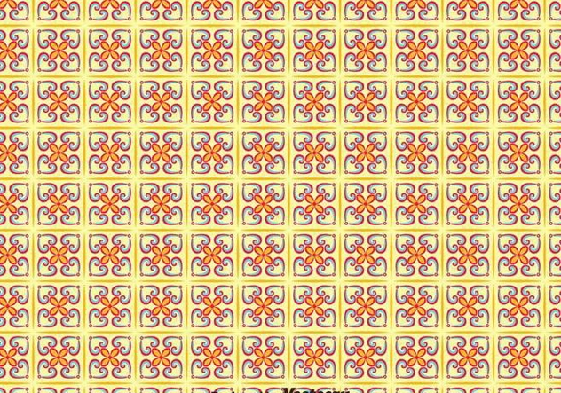 Traditional Portuguese Tiles Seamless Pattern - Free vector #377571