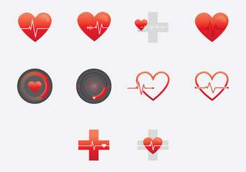 Heart Monitor - vector #377931 gratis