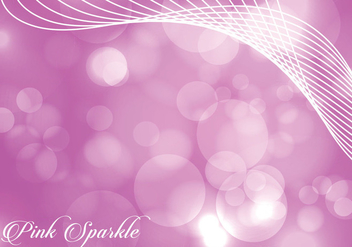 Vivid Pink Sparkle Background - Kostenloses vector #378071