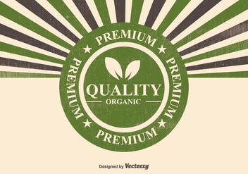 Organic Premium Quality Illustration - vector gratuit #378191