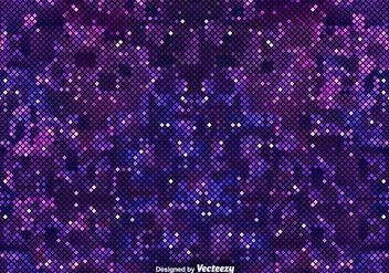 Pixelated Purple Background Of The Outer Space - Kostenloses vector #378211