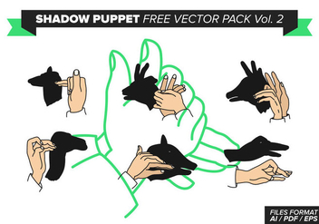 Shadow Puppet Free Vector Pack Vol. 2 - Kostenloses vector #378251