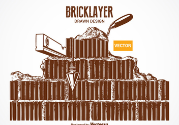 Free Vector Bricklayer Design - бесплатный vector #378461