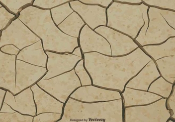Vector Earth Cracked Because Of Drought - vector gratuit #378901