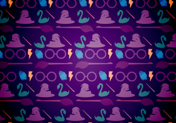 Harry Potter Magic Pattern - бесплатный vector #379261