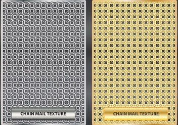 Chainmail Texture illustration - Free vector #379501