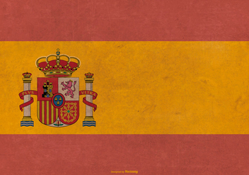 Grunge Flag of Spain - Kostenloses vector #379651