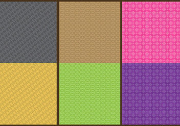 Chainmail Patterns - бесплатный vector #379701