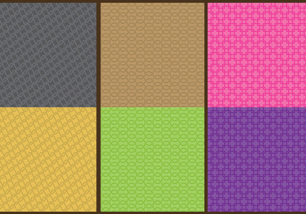 Chainmail Patterns - vector #379701 gratis