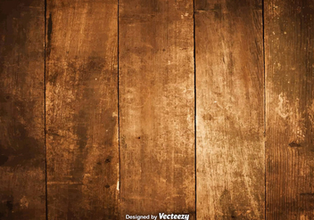 Vector Illustration Of Hardwood Planks - Kostenloses vector #380231