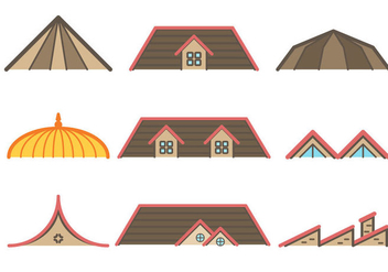 Free Rooftop Vector - Free vector #380351