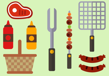 Free Barbecue Vector - бесплатный vector #380761