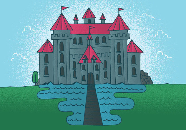 Fairy Tale Castle Vector - бесплатный vector #380811